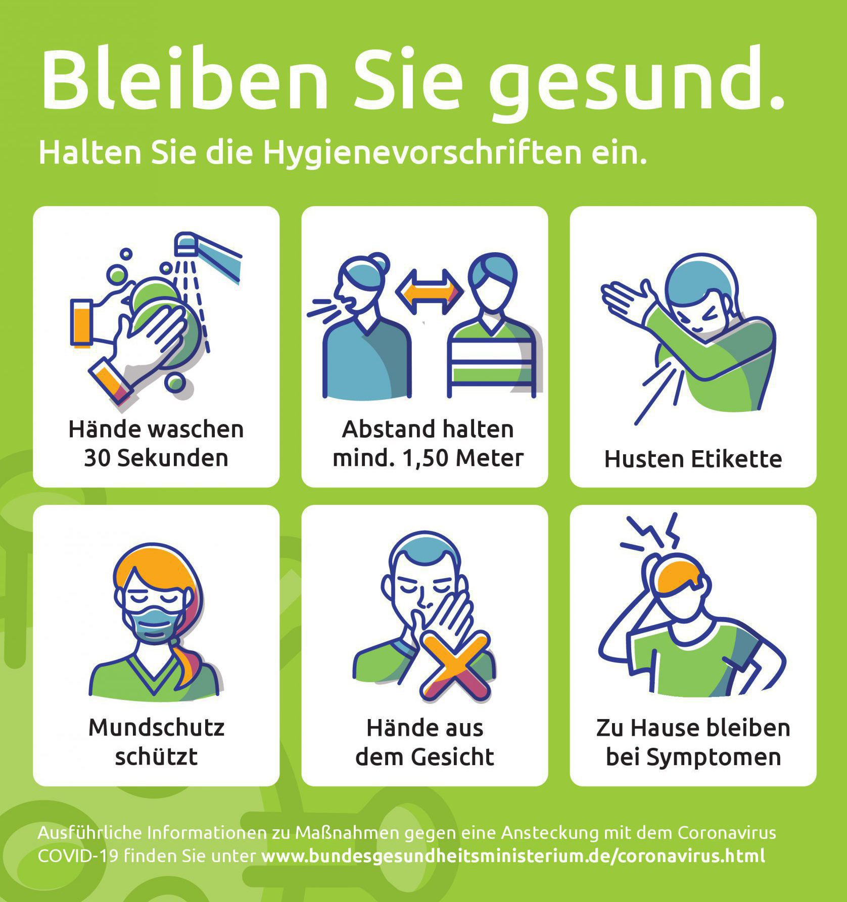 Plakat-DVE_Hygiene_gruen_Web_1